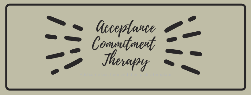 Acceptance committment therapy for OCD