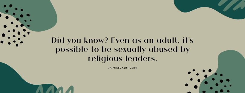 is sex sinful - sexual consent is not possible between clergy and members